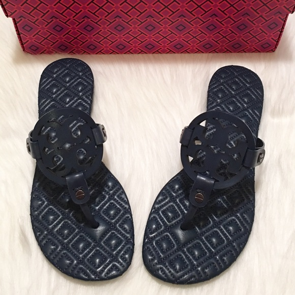 NEW Tory Burch Marion Quilted Miller Sandals!