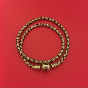 pandora pandora leather wrap bracelet from marlene s