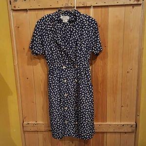 Vintage double breast dress