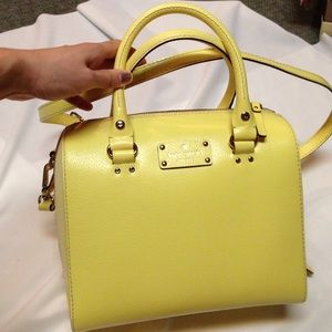 Kate Spade Wellesley Alessa bag limonium NWT
