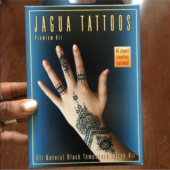d5d9620d8 Makeup | Super Cool Jagua Tattoo Kit Similar To Henna | Poshmark