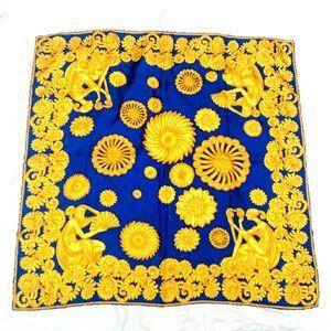 Lanvin Accessories - Incredible Lanvin Baroque Vtg Silk Scarf