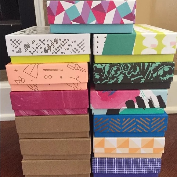 BIRCHBOX Empty Boxes Lot Collection Of 13