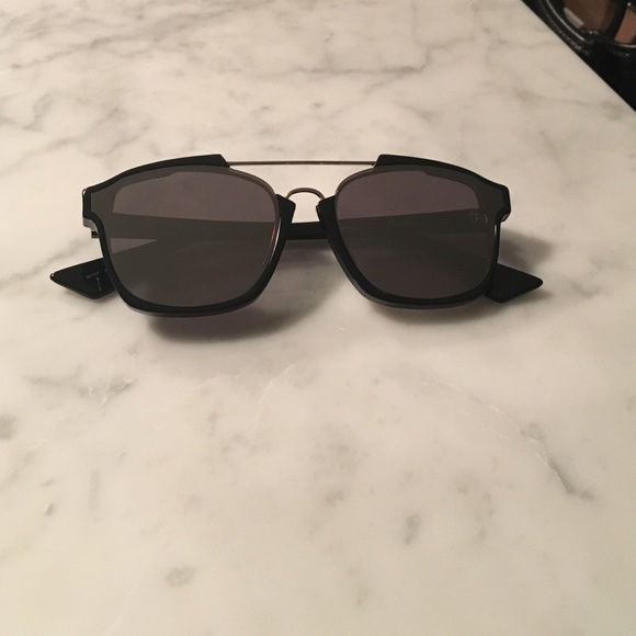 Dior Accessories   Abstract Sunglasses Black   Poshmark fc66caec7ee0