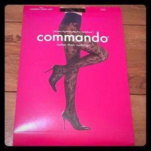 Commando Accessories - Luxe Lace tights