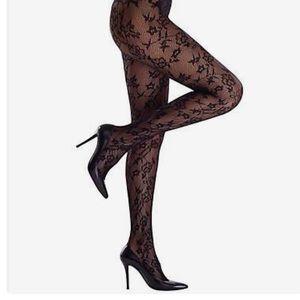 Commando Accessories - Luxe Lace Net tights