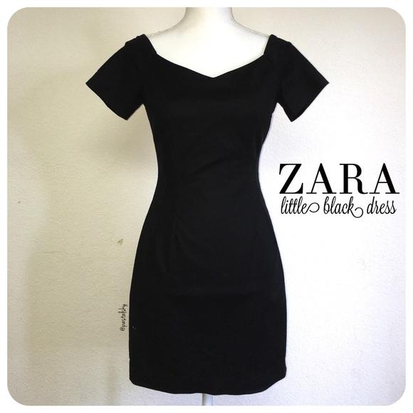 Zara Dresses Basic Little Black Dress Poshmark