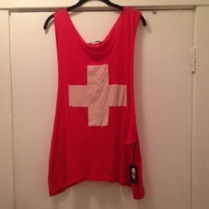 Wildfox lifeguard tank top