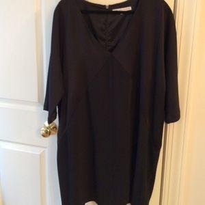 Trina Turk tunic little black dress