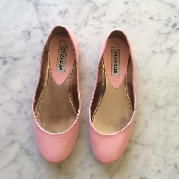 1fe6e4046cf 🎀 Steve Madden P-Heaven Patent Pink Flats 🎀