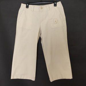 Dockers Pants - Dockers cream capris