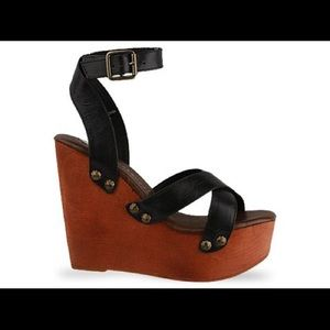 Jeffrey Campbell Miracle wedge