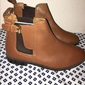 Topshop Shoes - Leather Topshop Boots