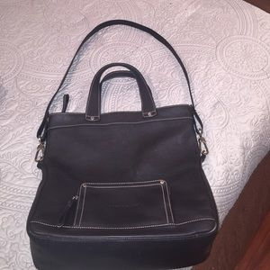 Longchamp leather bag/crossbody