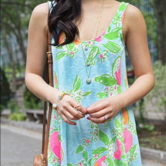 Lilly Pulitzer Dresses - Lily Pulitzer Pink Lemonade Dress NWT