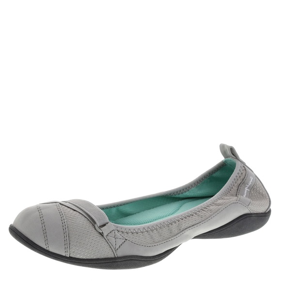 b6d703861f9d6 Champion Shoes - Champion Grey Charm Skimmer Flats Size 9
