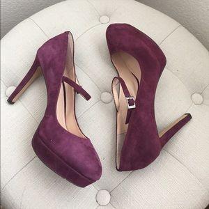 LAST CHANCE Vince Camuto Joshlynn purple heels