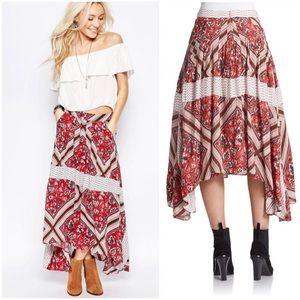 💥SALE💥 Free People Printed Paradise Skirt