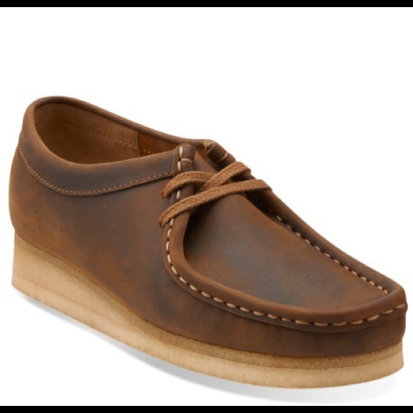 directorio sugerir sorpresa  Clarks Shoes | Brown Leather Wallabies By Clarks 7 | Poshmark