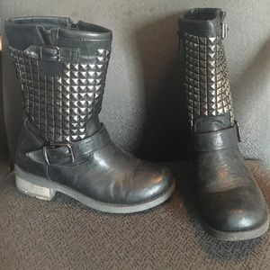 Wanted Shoes - Wanted studded Motoboots