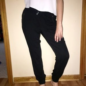 Black xhilaration joggers