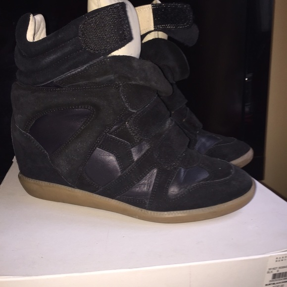 bcf9689e291 Isabel Marant Shoes | Black Sneakers With Box And Dustbag | Poshmark