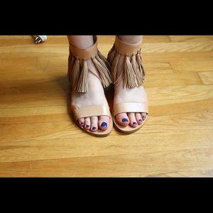 Loeffler Randall Shoes - Loeffler Randall Fringe Sandals
