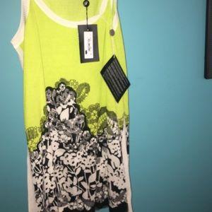 Blumarine Dresses & Skirts - New Blumarine Citron Mini Dress