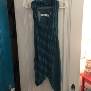 Teal Anthro Knit Tunic