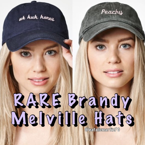 PLEASE READ  Rare Brandy Melville Hats from Pacsun 3dbb42d0bc01