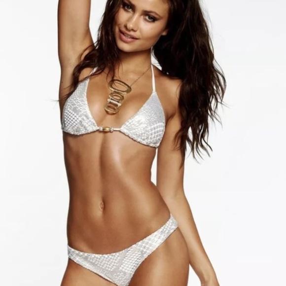 White gold bikini