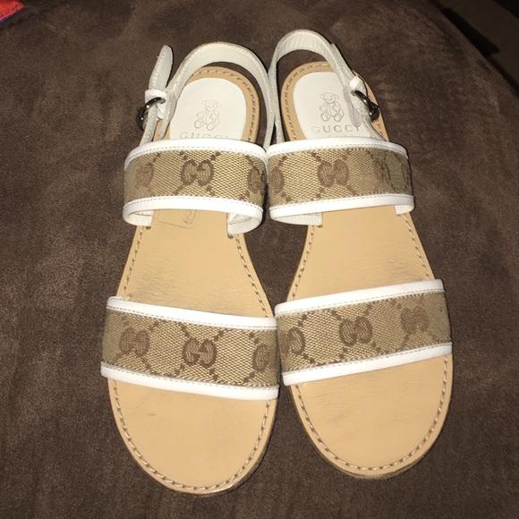 2d4dcf5e7 Gucci Shoes | Girls Sandals | Poshmark