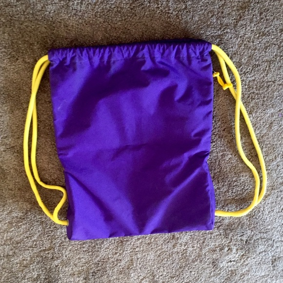 66% off Nike Handbags - ✂️SALE✂ Nike drawstring bag 💜💛 from ...