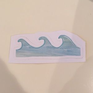 Redbubble Other - Redbubble WAVES sticker