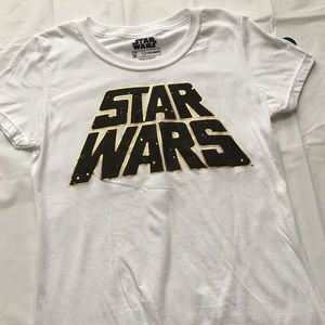 Star Wars Tops - NWT White Star Wars Graphic Tee