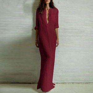 BF shirt maxi dress. 001