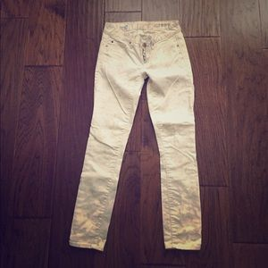 Gap Always Skinny Floral Jeans size 24