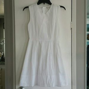 Gap fit and flare cotton sleeveless dress