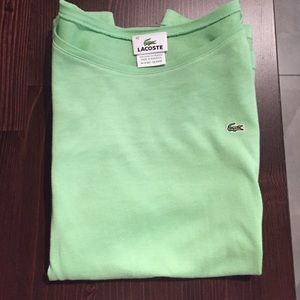 Green Lacoste Long-Sleeve