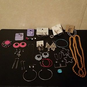 Jewelry Bundle With Jewelry Holder