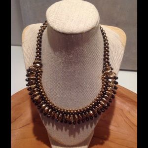Nakamol Jewelry - Nakamol Statement Necklace in Gunmetal colors