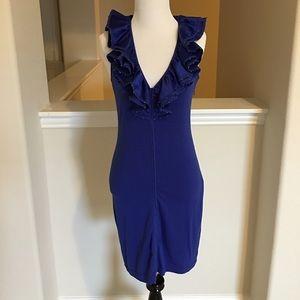 Gracia Dresses & Skirts - NWT Royal blue Gracia dress w rhinestone details