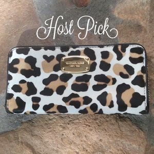 Michael Kors Handbags - NWOT Authentic Michael Kors Calf Hair Wallet