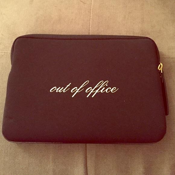 half off a0d20 347b9 Kate Spade Out of Office iPad Mini Sleeve