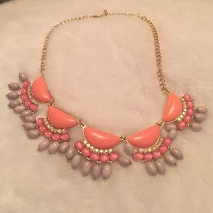 Statement necklace from Kohls
