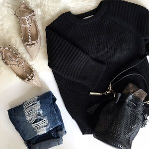 Mango Sweaters - Mango Premium Label Chunky Knit Sweater