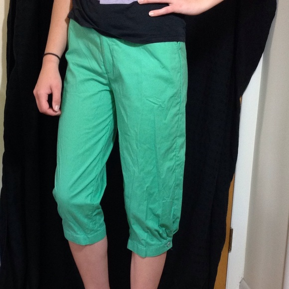 latest street price purchase cheap Vntg 80s Kelly green Capri knickers NW NWT