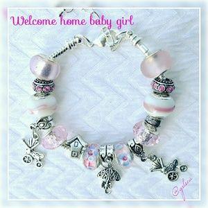 Salty Grace  Jewelry - Baby girl charm bracelet