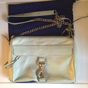 Rebecca Minkoff Light Blue mini MAC crossbody