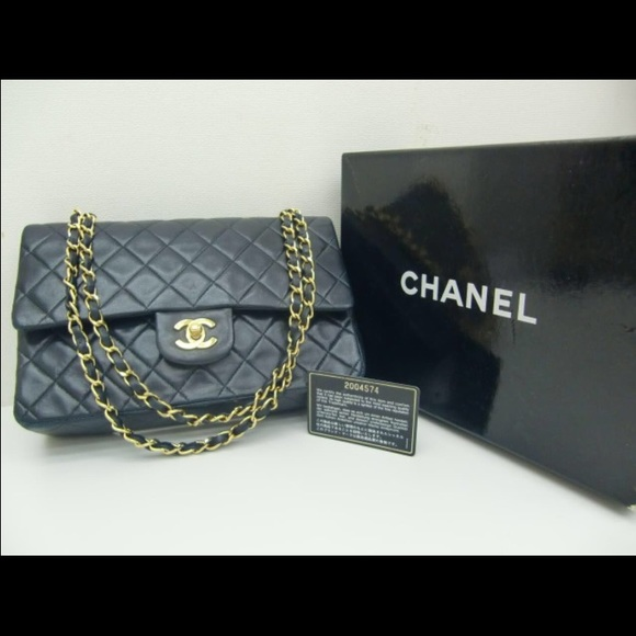 2009381febc2 CHANEL Bags | 255 10 Inch Double Flap Shoulder Bag | Poshmark